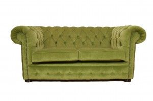 Green chesterfield - I have an old sofa very similar to this that I want to get recovered!!!