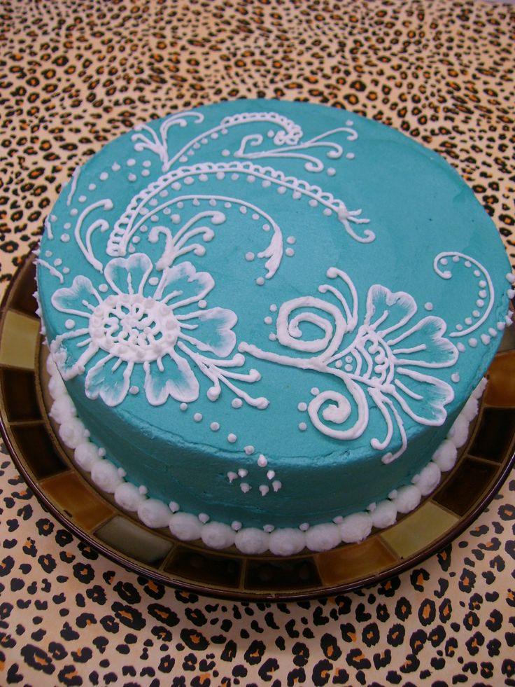Mehndi Patterns For Cakes : The best images about royal icing tutorials on