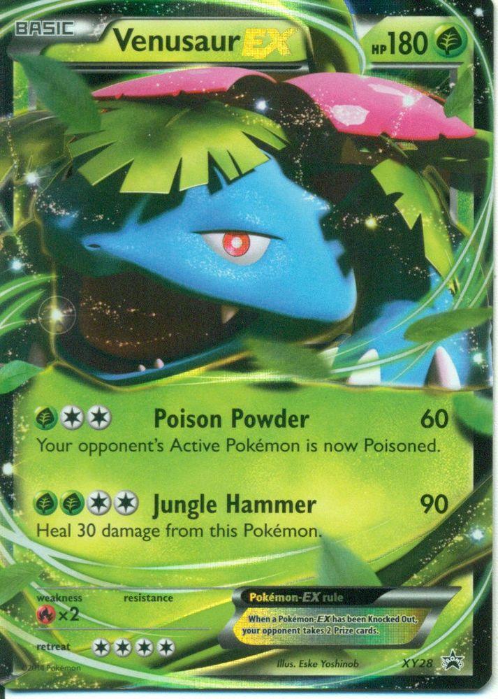 Venusaur EX XY28 - PROMO Ultra Rare Pokemon Card #Pokemon