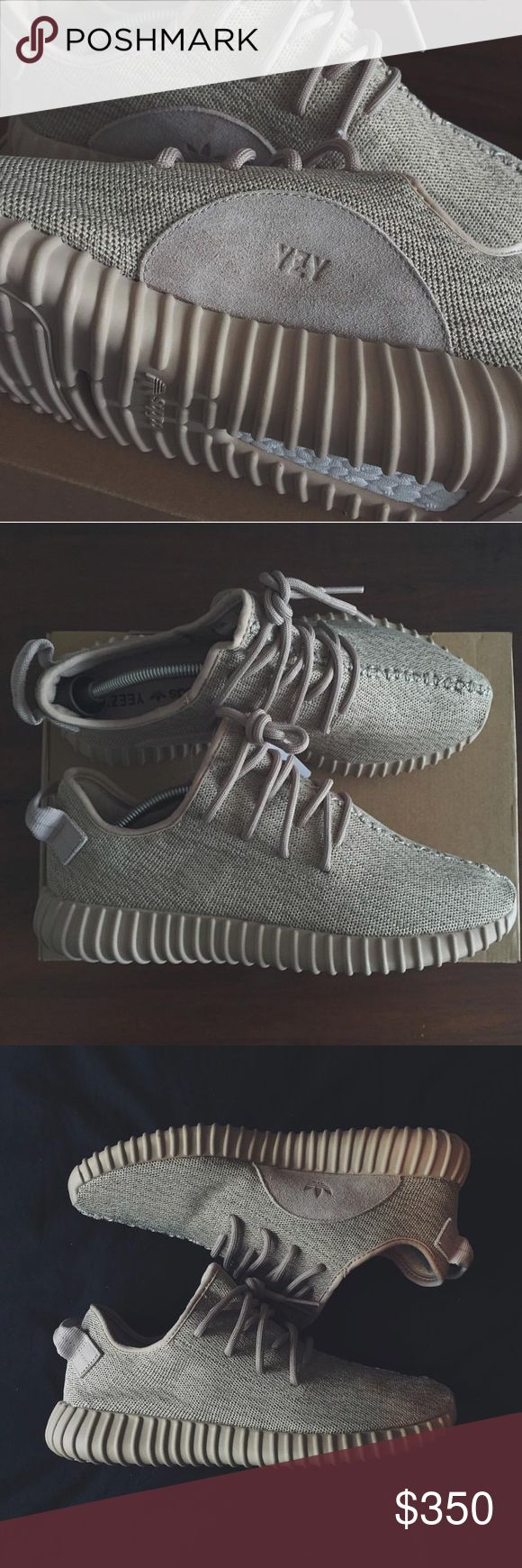 Yeezy Boost 350's - Oxford Tan I'll start with YES THEYRE AUTHENTIC and I'll follow with, NO I WILL NOT TAKE 1,000 PHOTOS TO PROVE THEY ARE AUTHENTIC. I'm not asking a ridiculous price because I didn't pay one, I got these from the LA Adidas location. Parting with because they're my least favorite color way in the 350 lineup that I have. Note to buyer: THESE DO NOT HAVE INSOLES! ✨ I removed them a couple weeks after buying, I have hell for arches. So keep in mind when receiving that they…