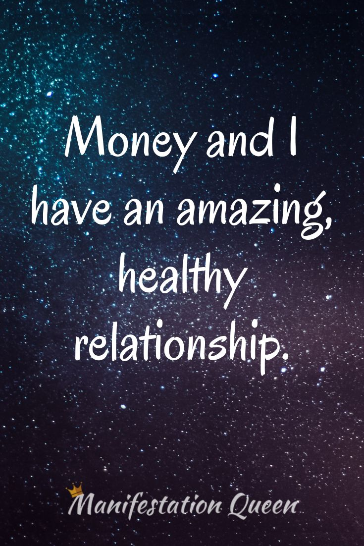 Affirmation About Money Love And Money Quotes Success Quotes And Sayings Affirmations