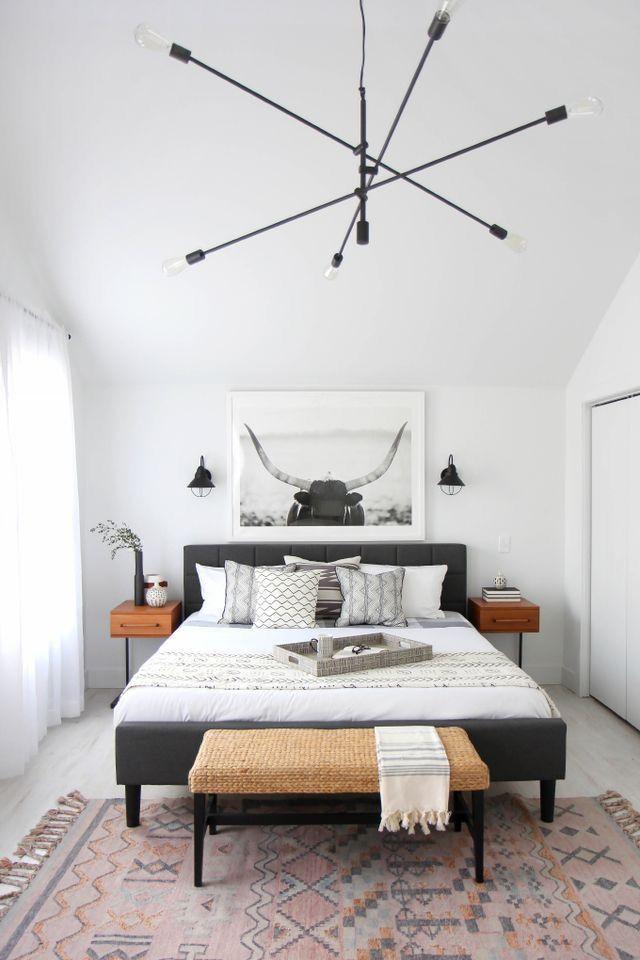Love it! Bedroom  decoration ideas, home decor, interior design, furniture, color  scheme,  Scandinavian decor, home, home goals,   bedroom goals