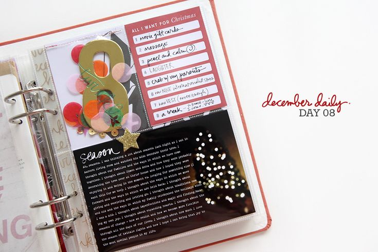 Ali Edwards | Blog: December Daily® 2014 | Day Eight