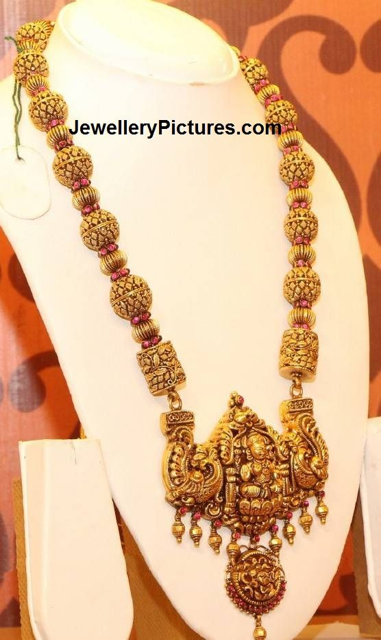 Temple Jewellery - Page 2 of 3 Latest Indian Jewelry - Jewellery Designs More
