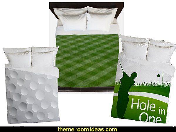 golf bedding golf duvet golf bedding