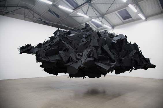 Hallucination: Martin Eder's Menacing, Black Sculptural ...