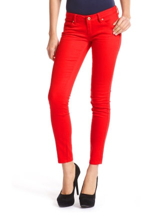 Just bought these. Can never have to many pairs of colored skinny jeans.: Skinny Jeans Women, Style, Red Denim, Skinny Jeans Must, Charlotte Russe, Denim Skinny, Bright Red, Colored Skinny Jeans, Colored Jeans