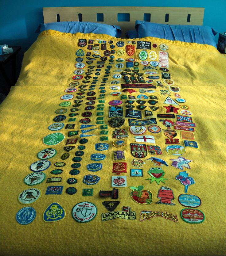 This is mine from a looooong time ago when it was covered the width of my sleeping bag.... now it is nearly full.... photos to follow!