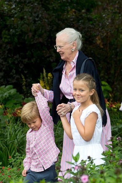 Annual Summer Photocall For The Danish Royal Family At Grasten Castle on July 25, 2015 in Grasten, Denmark