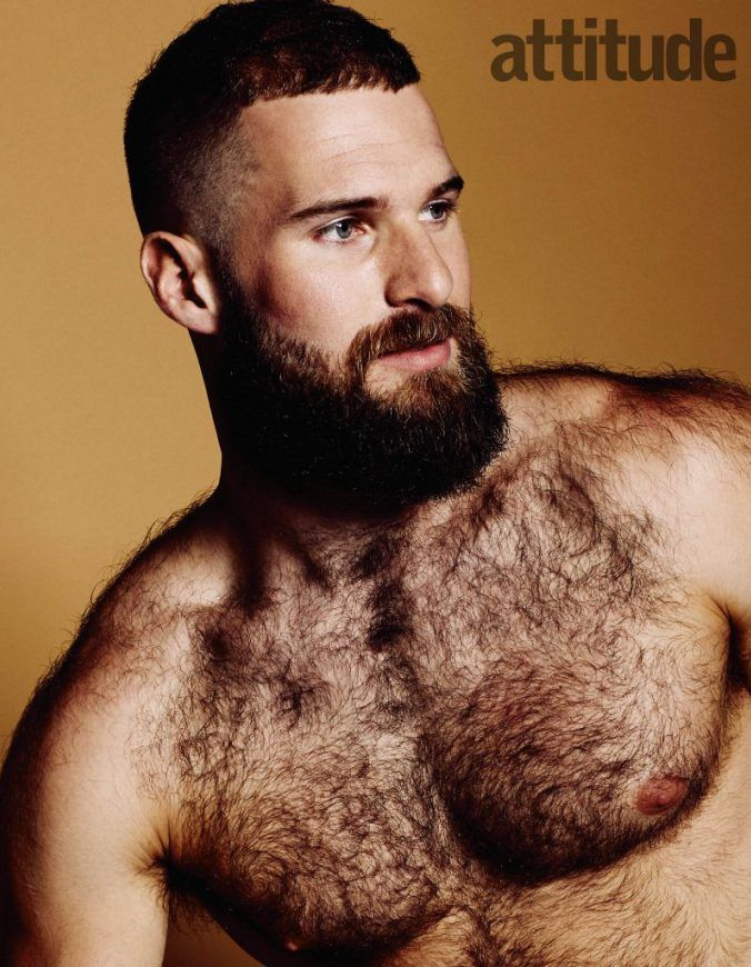 Matt Lister, former canoeing champ and Team GB (as in Great Britain) member, is stripping down and showing off his fur in a new revealing photoshoot.