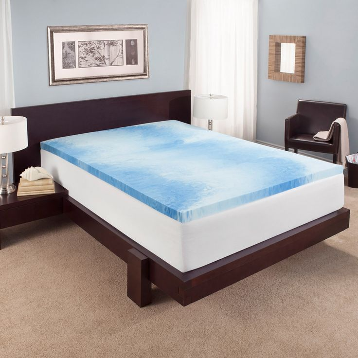 Experience the ideal balance of comfort, support and the optimal sleep temperature. Two inches of cooling gel memory foam keeps you comfortable all night long while providing you with the therapeutic, gentle support your body needs.