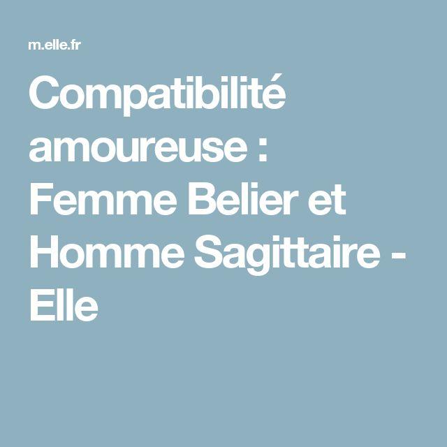 Compatibilité amoureuse : Femme Belier et Homme Sagittaire - Elle