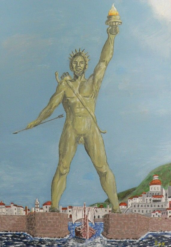 Colossus of Rhodes  Eric Kempson by ellenisworkshop on Etsy