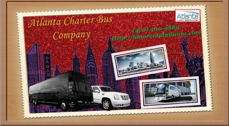 Atlanta Charter Bus Company provides the best and Reliable charter bus rental services in Atlanta and the rest of Georgia. You can get the luxury Bus options range from minibuses, party buses, Coach Buses, School Buses and many More. Look no further other charter bus company. Book us today at (470)-400-9889