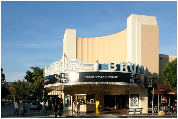 Bruin Theatre 1937 By Architect S Charles Lee Los