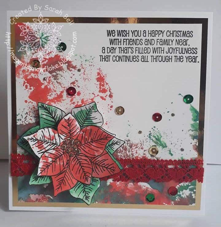 Designed by Sarah Bell using Amour Cotton Lace Ribbon - Love from Crafty Ribbons