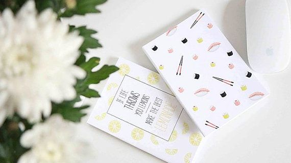 Notebook Journal Tasty Collection by ClaraMatse on Etsy