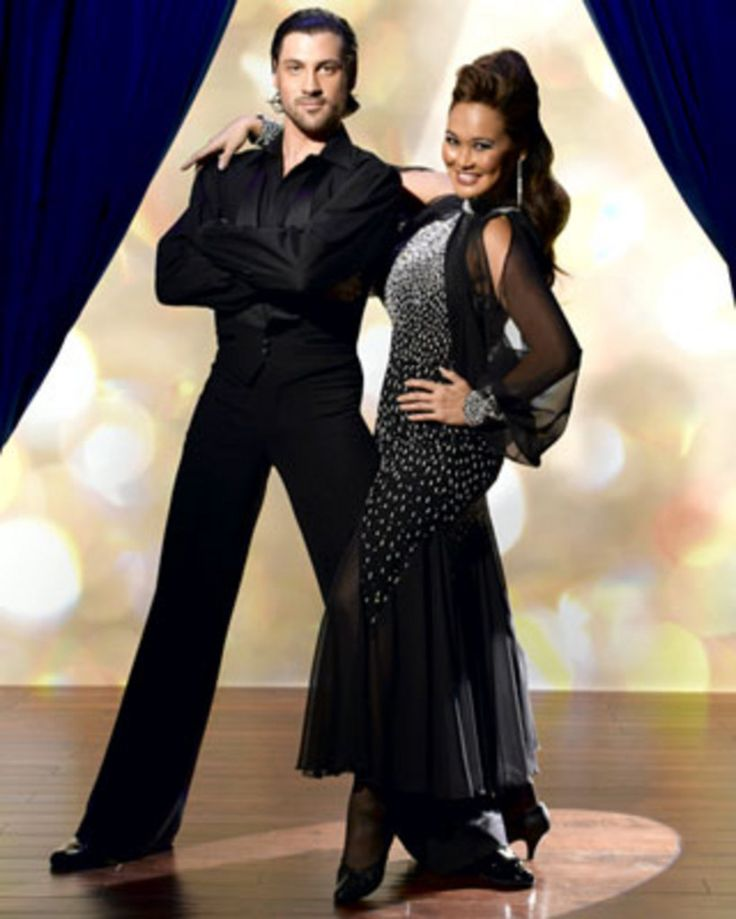 Tia Carrere and maksim chmerkovskiy