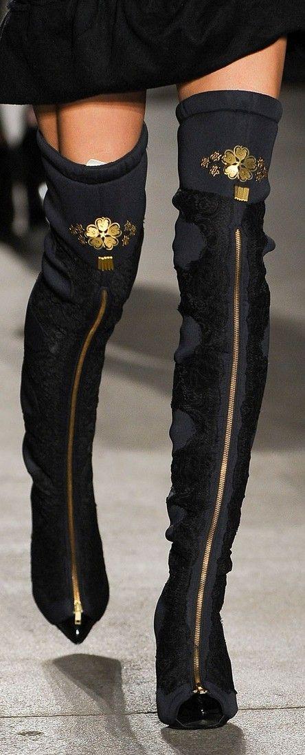 Runway fashion in details