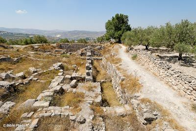 Samaria's Israelite Acropolis. Omri bought the Hill of Shemer for 2 talents of silver & made this his capital (1 Ki 16:24-28). His son Ahab was married to the Phoenician princess Jezebel, & they made Baal worship widespread in Israel. Ahab built a temple of Baal here which was later destroyed by Jehu, together with the priests of Baal (1 Kgs 16:32; 2 Kgs 10:18ff). Excavations here have revealed the acropolis of the kings, with a collection of ivories and ostraca.