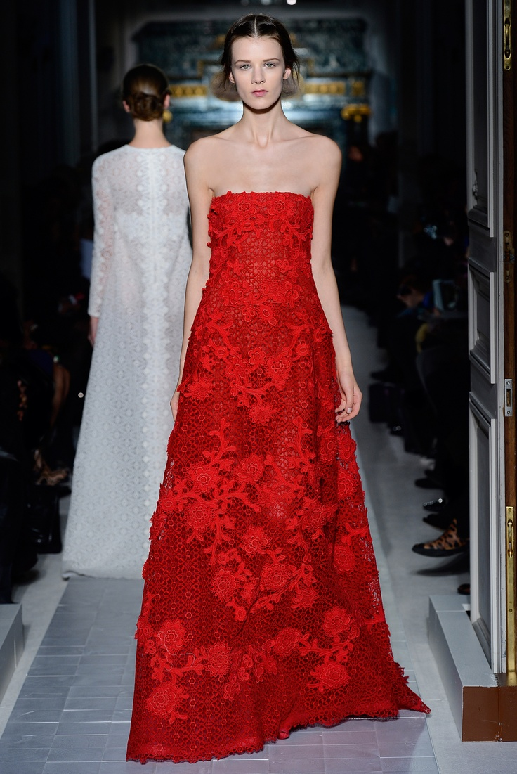 48 best images about haute couture ss 2013 on pinterest for Haute couture red