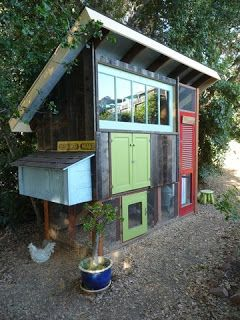 Chicken coop: Salvage and Reuse...