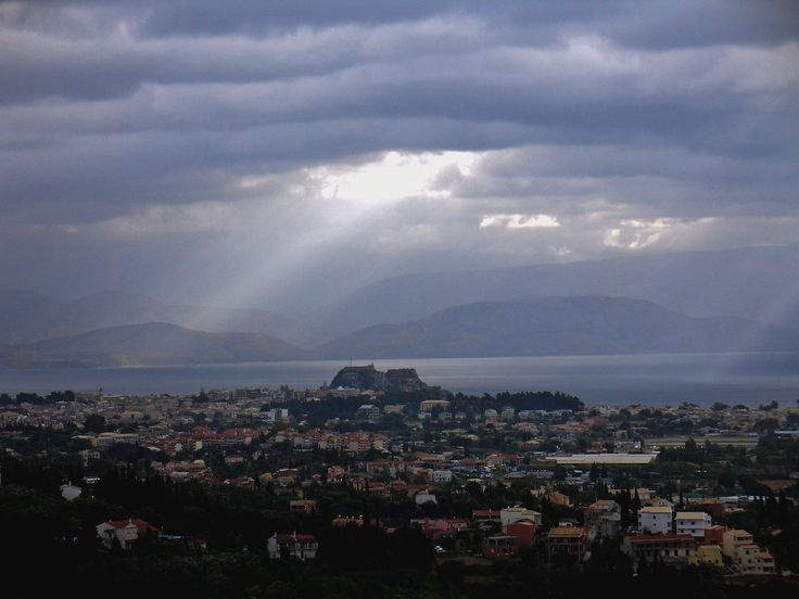A #winter day in #Corfu! Photo by anubis