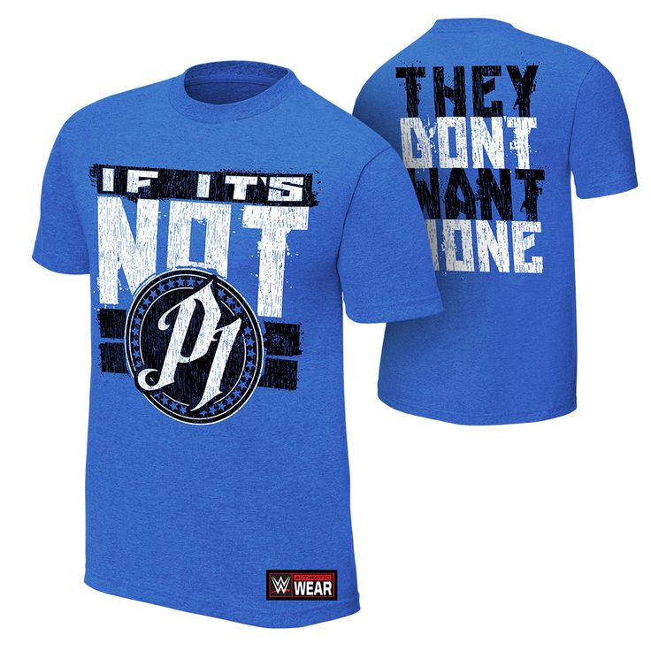 "AJ Styles ""They Don't Want None"" Authentic T-Shirt"
