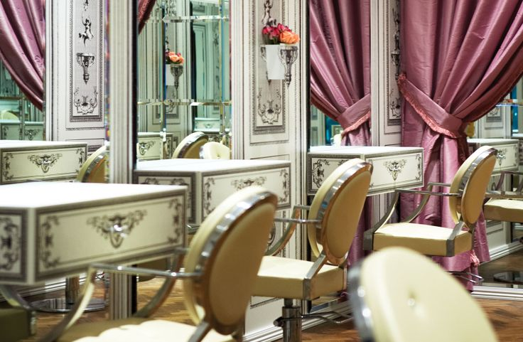 Pretty Hair Salon. | salon ideas | Pinterest | French ...