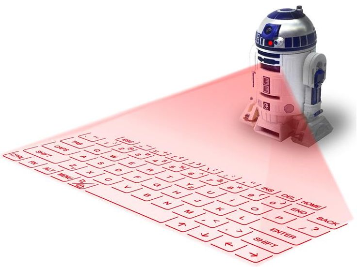 Star Wars R2-D2  Virtual Laser Tastatur