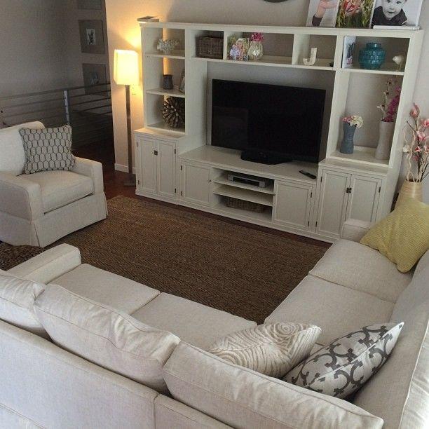 Jonathan Louis Custom Sectional Sofa Tailored Beachy And