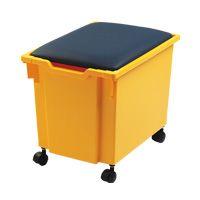 Met deze bakzitting set kunt u uw Gratnells lade gebruiken als verrijdbare zitting. Handig!