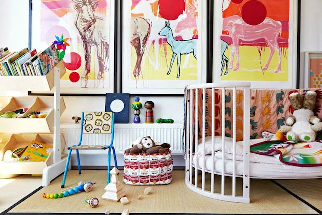perfect place to rest and play - stokke sleep junior bed: Armel Habib, Kids Playrooms, Toddlers Beds, Kids Spaces, Child Rooms, Eclectic Kids Rooms, Cribs, Plays Area, Eclectic Bedrooms