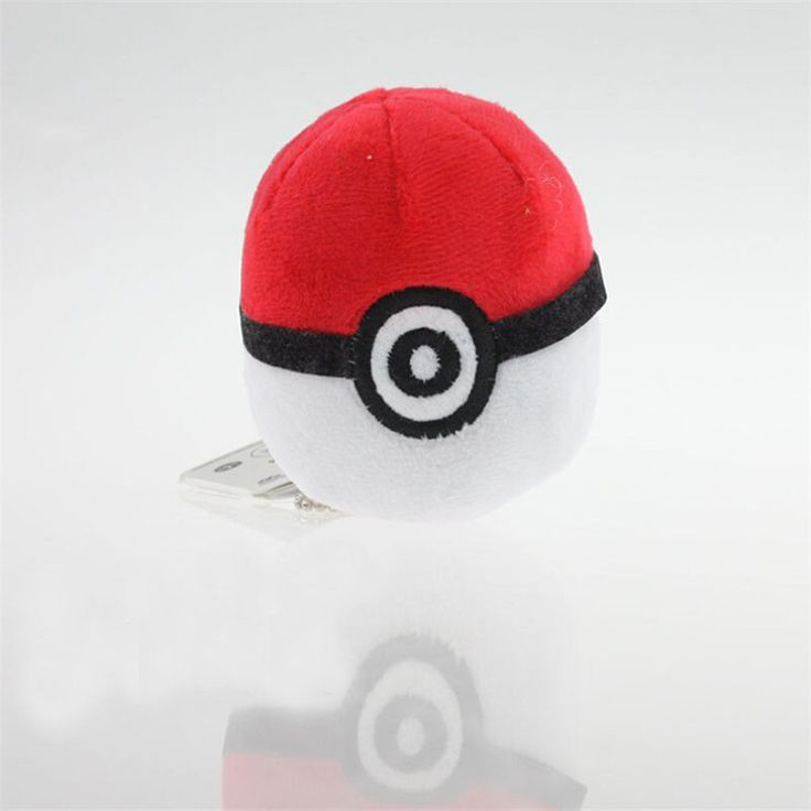 Pokemon Pokeball Plush Keychain