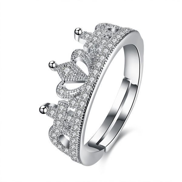 ad item fashion costume ring diamond simulated jewelry crystal wedding l rings