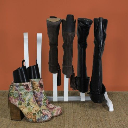Maintain The Integrity Of Your Boots With This Sturdy,  Thoughtfully Designed Boot Rack. Made To Keep Your Tall Boots In Mint  Condition And Free Of Creases ...