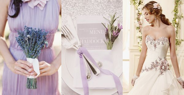 45 Romantic Ways to decorate your wedding with lavender!