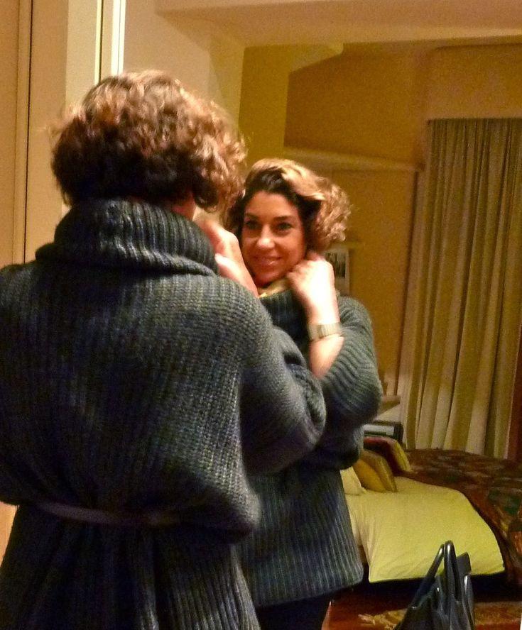 Como amarrar um lenço ou pashmina