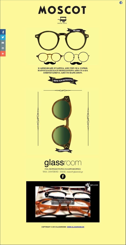 Glassroom Newletter No2 Moscot ➜