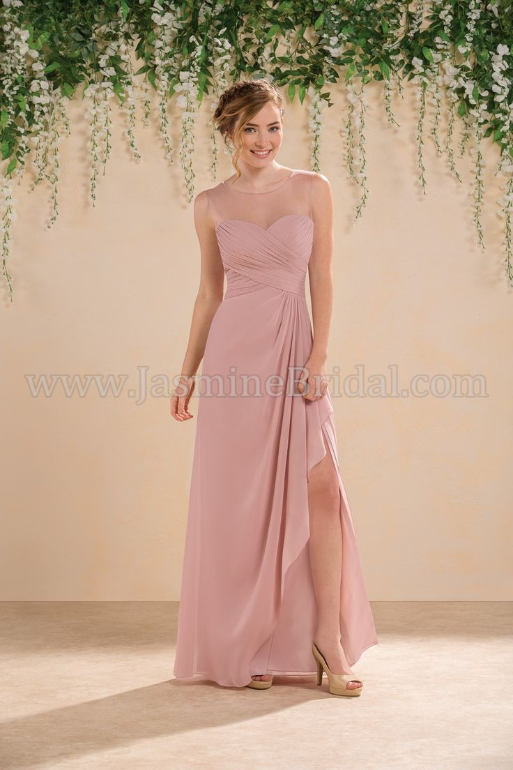 52 best bridesmaid new spring 2016 styles by jasmine images on jasmine bridal bridesmaid dress b2 style b183013 in misty pink ombrellifo Image collections