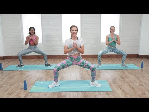 4 Moves For a Tight and Toned Booty | Class FitSugar - YouTube