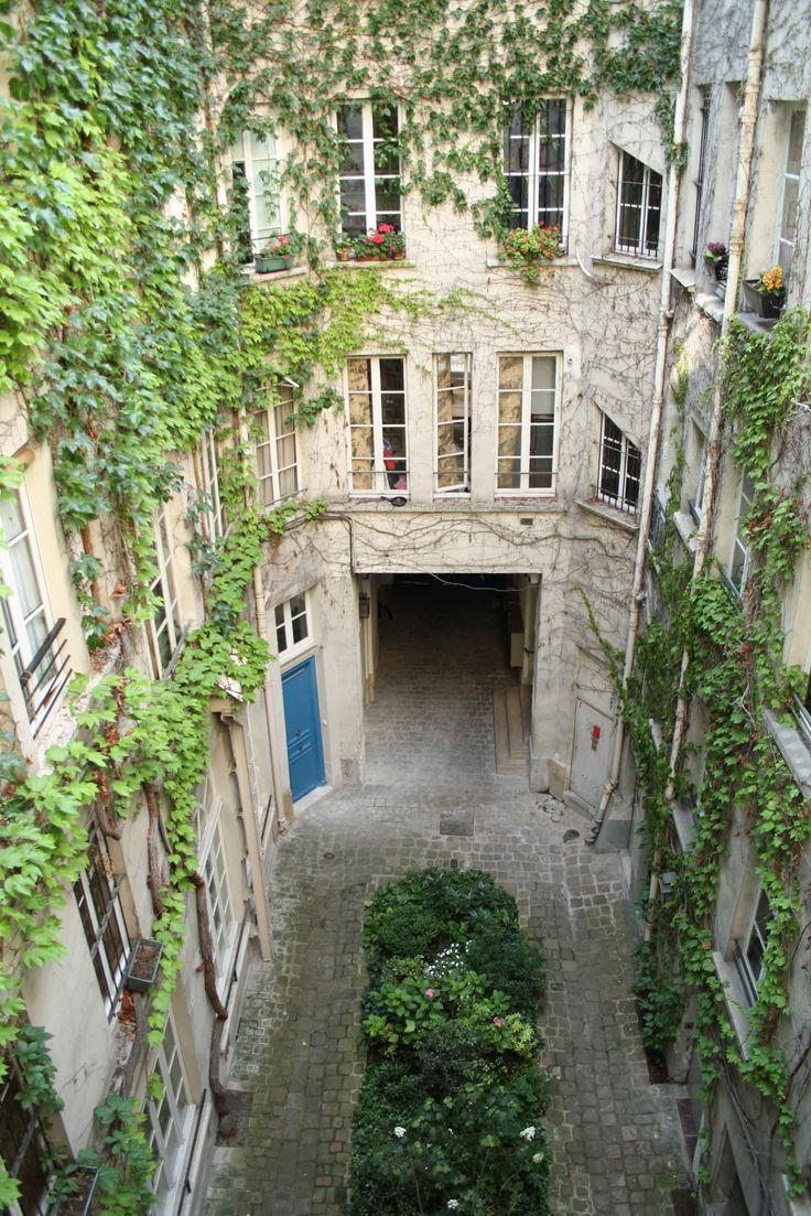This wasn't our apartment in Le Marais but I love this photo.