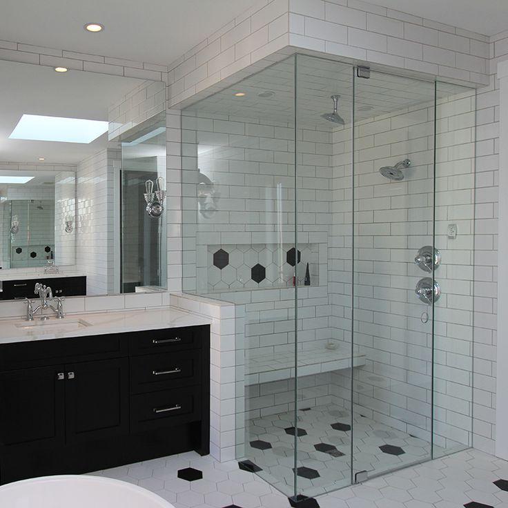 The 9 best Shower Glass images on Pinterest | Bathroom ideas ...