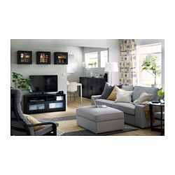 This TV unit has large drawers that make it easy to keep remote controls, game controllers and other TV accessories organized. Cable outlets make it easy to lead cables and cords out the back so they're hidden from view but close at hand when you need them.
