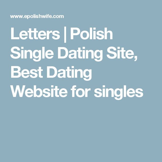Letters | Polish Single Dating Site, Best Dating Website for singles