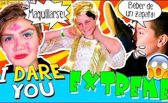 I dare YOU... ¡¡EXTREME!! 😱 Retos EXTREMOS: beber de un ZAPATO, chupar un PIE ... ¿¿Quién ganará??