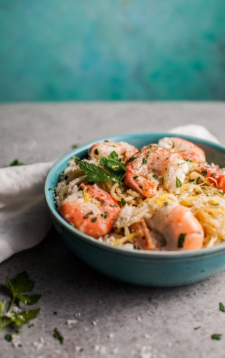 This creamy lemon shrimp spaghetti recipe is easy enough to make on a weeknight and impressive enough to serve at a dinner party.