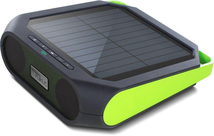 Rugged Rukus portable solar wireless sound system