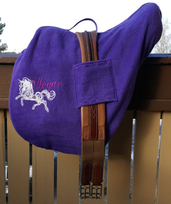 Premium Saddle Cover and Carrier ALL IN ONE - For English, Hunt Seat or Dressage