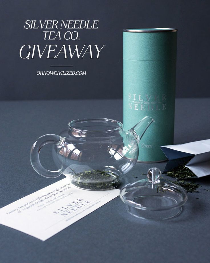 Holiday Giveaway // Silver Needle Tea Co. — Oh, How Civilized